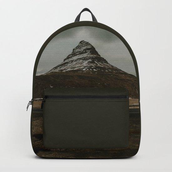 Iceland Kirkjufell Mountain Backpack