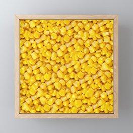 Corn Framed Mini Art Print