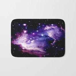 Galaxy .  Deep Purple & Blue Bath Mat