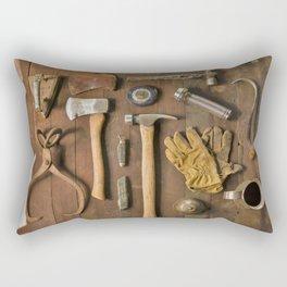 Tools (Color) Rectangular Pillow