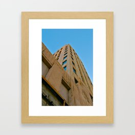 Against the sky Framed Art Print