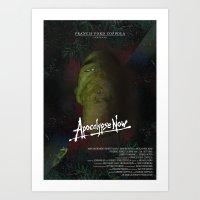 apocalypse now Art Prints featuring Apocalypse Now by FSDisseny