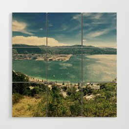 The Wind and the Waves Wood Wall Art