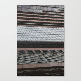 Downtown World Canvas Print