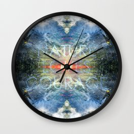 Nature LOVES Courage Wall Clock