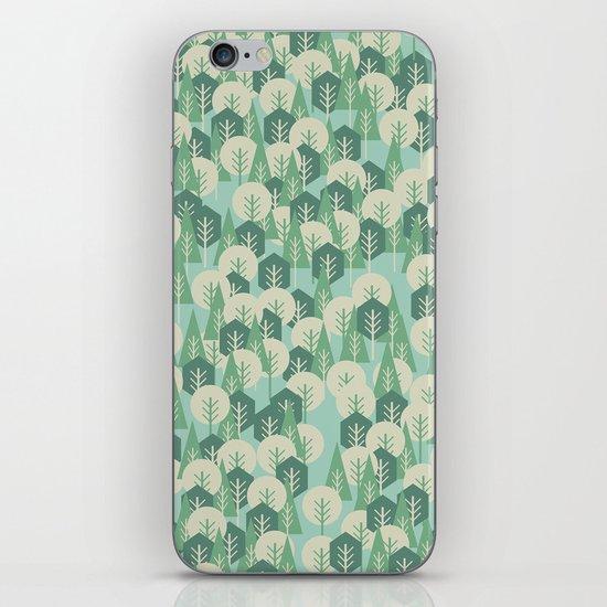 Geometric Woods iPhone & iPod Skin