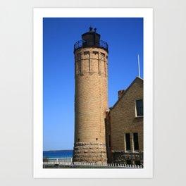 Lighthouse - Mackinac Point, Michigan 2010 Art Print