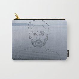 wavy childish gambino Carry-All Pouch
