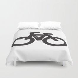 Simple Bike Duvet Cover