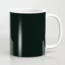 Icy Thunder ~ Inky Teal Coffee Mug