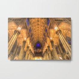 St Patrick's Cathedral New York Metal Print