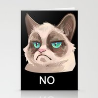 grumpy Stationery Cards featuring Grumpy by Corelle_Vairel