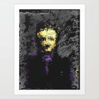 edgar allan poe Art Prints featuring Edgar Allan Poe by brett66