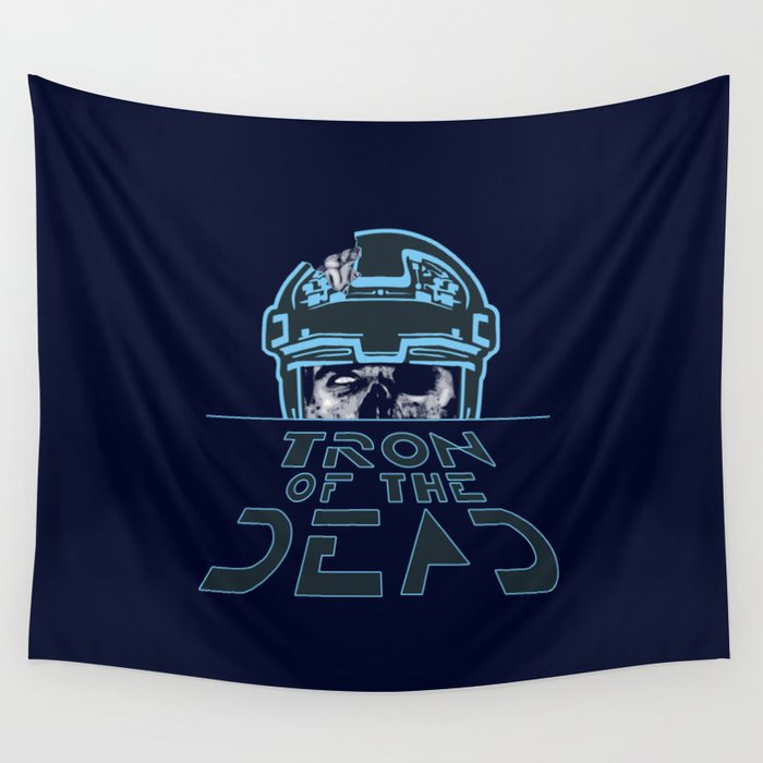 Tron Of The Dead Wall Tapestry