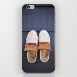 Typical dutch clogs iPhone Skin