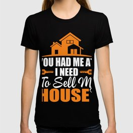 Costume For Realtor. Shirt From Kids. T-shirt