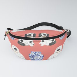 Staffordshire Dogs + Ginger Jars No. 3 Fanny Pack