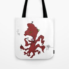 Fancy Monsters are Fancy! Tote Bag
