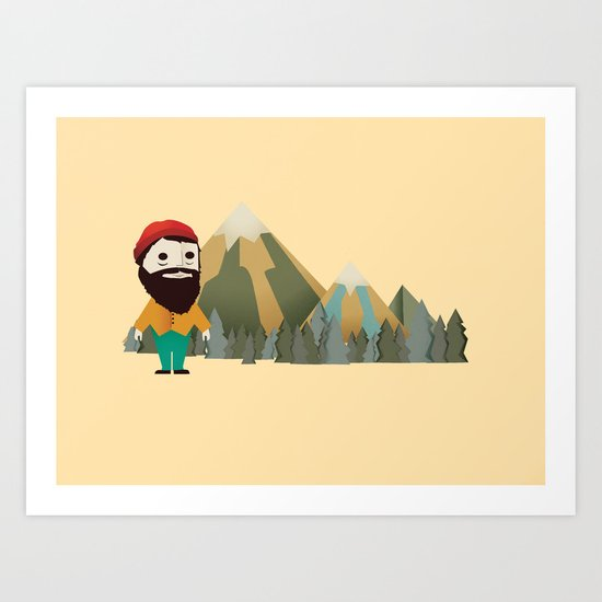 Big Like Bunyan Art Print