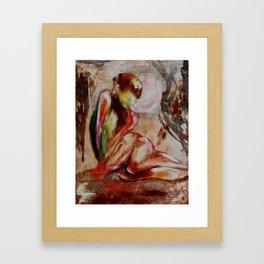 Acceptance of Emotion Framed Art Print