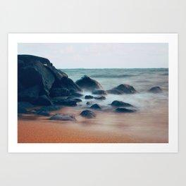 Kauai Ocean Mist Art Print