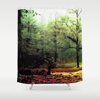cycle Shower Curtains featuring cycle by Nev3r