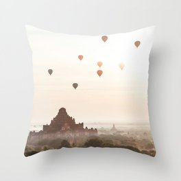 Bagan V Throw Pillow