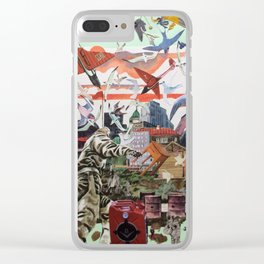 Syria.... Clear iPhone Case