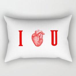 I - Heart - U Rectangular Pillow