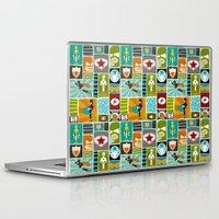 superheroes Laptop & iPad Skins featuring Superheroes! by EloisaD