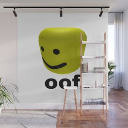 Roblox Oof - Roblox Wall Mural