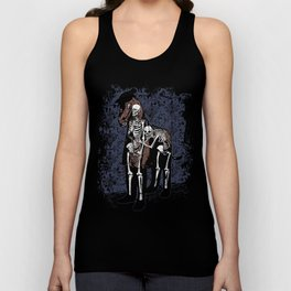 Anatomy of a Fake Horse Unisex Tank Top