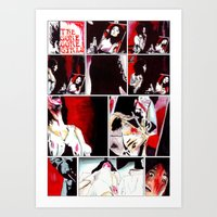 gore Art Prints featuring The Gore Gore Girls by Zombie Rust