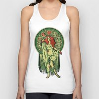 zombie Tank Tops featuring Zombie Nouveau by Megan Lara