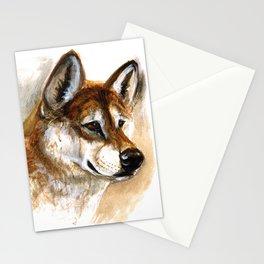 Dingo realistic Stationery Cards