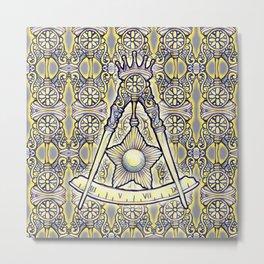 14th Degree (spanish tile) Metal Print