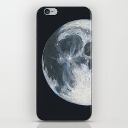 Moon Portrait 1 iPhone Skin