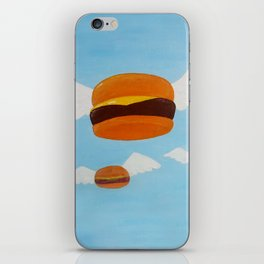 Bob's Flying Burgers iPhone Skin