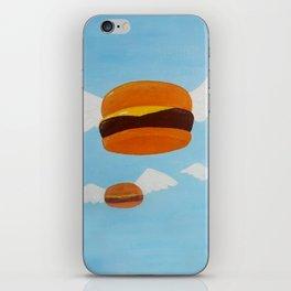 Bob's Flying Burgers iPhone Skin