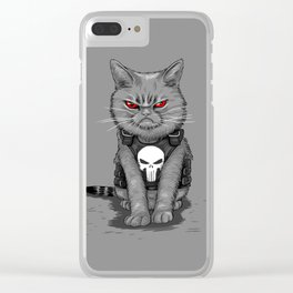 Purrisher Clear iPhone Case