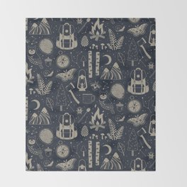 Into the Woods: Stargazing Throw Blanket