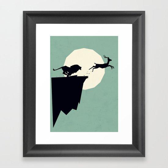 I is for Impala Framed Art Print