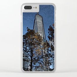 freedom in autumn Clear iPhone Case