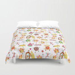 cookout Duvet Cover