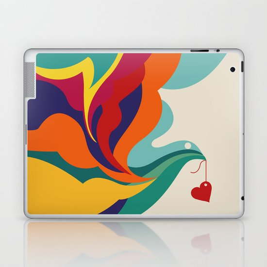 Love Message Laptop & iPad Skin