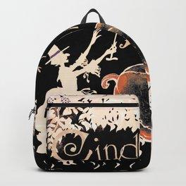 Cinderella's Pumpkin Patch ~ Altered Arthur Rackham Art Backpack