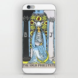 02 - 	The High Priestess iPhone Skin