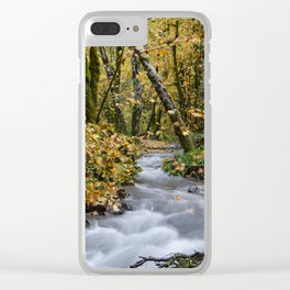 Tillamook In The Fall Clear iPhone Case