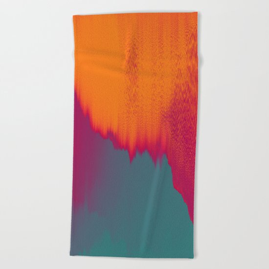 Solar Flare Beach Towel