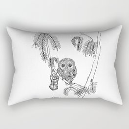Owl Hour Rectangular Pillow